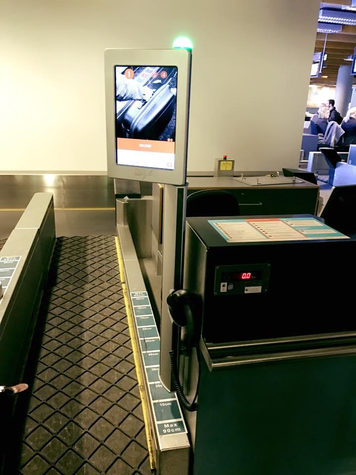 Reykjavik Airport baggage claim