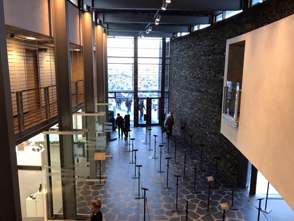 Blue Lagoon Iceland Entrance Inside