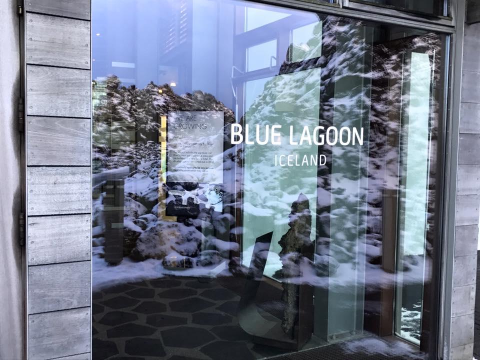 Blue Lagoon Iceland Entrance