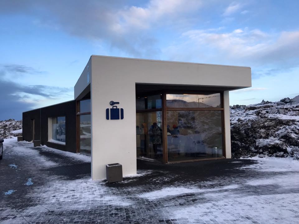 Blue Lagoon Iceland Luggage Storage