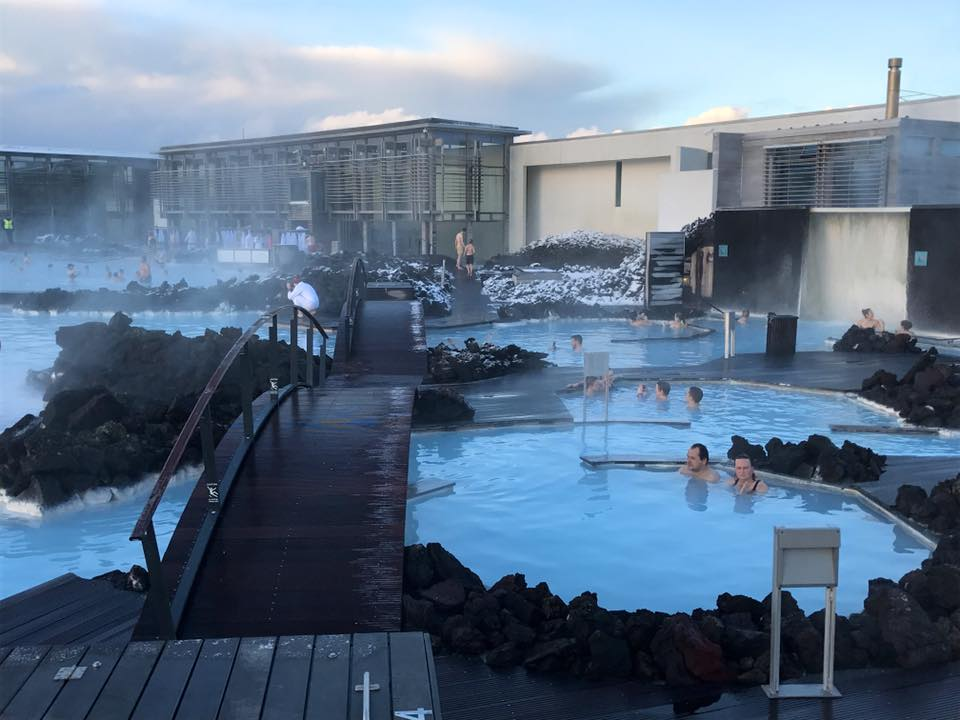 Blue Lagoon Iceland main building