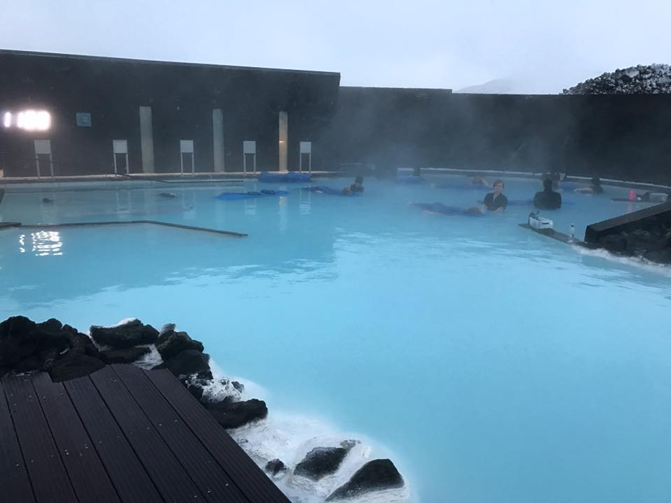 Blue Lagoon Iceland massage treatment area