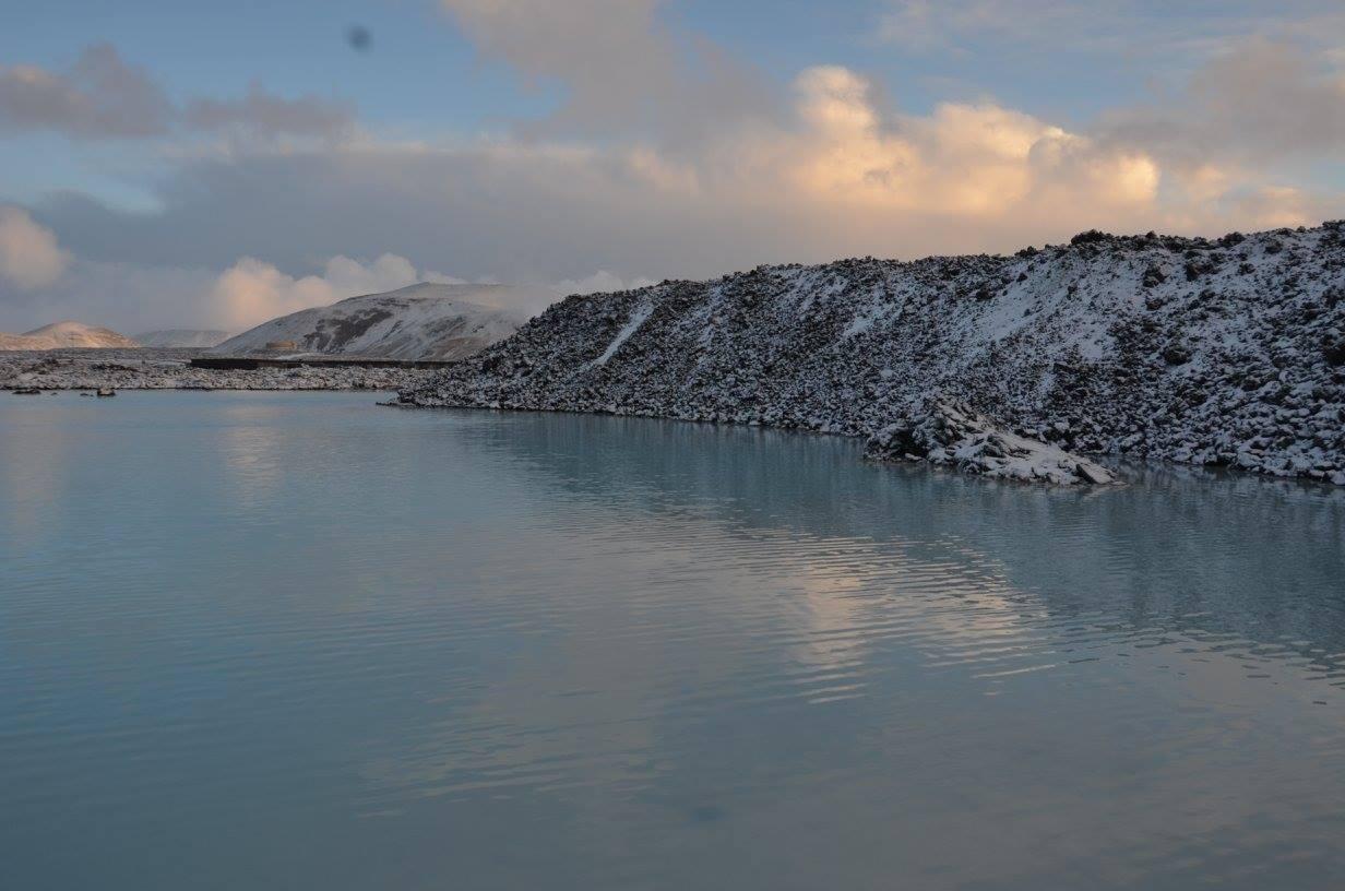 Blue Lagoon Iceland outside