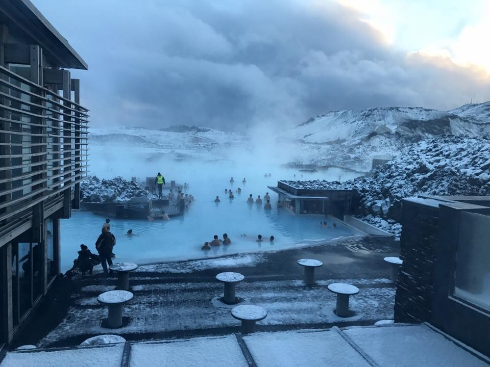 Blue Lagoon Iceland patio